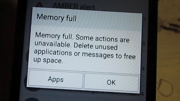 Android memory Full