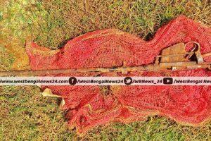 লালগড়ে চাষ জমিতে লাঙল করার সময় পাওয়া গেল বন্দুকের নল