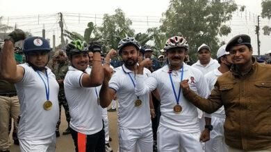 """মুর্শিদাবাদ জেলা পুলিশ সুপারের উদ্যোগে ৭৩ কিমি দীর্ঘ """"নেতাজি সাইকেল র্যালি"""" - West Bengal News 24"""
