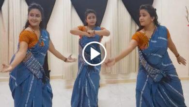 পরনে শাড়ি, খোলা চুল! দুর্দান্ত গানে বাড়ির ভিতরেই তু-মুল নাচ সুন্দরী যুবতীর, ভাইরাল ভিডিও! - West Bengal News 24