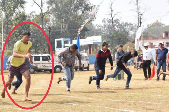 পুলিশ ক্রীড়ায় দৌড়ে প্রথম সাংবাদিক রঞ্জন পাল - West Bengal News 24