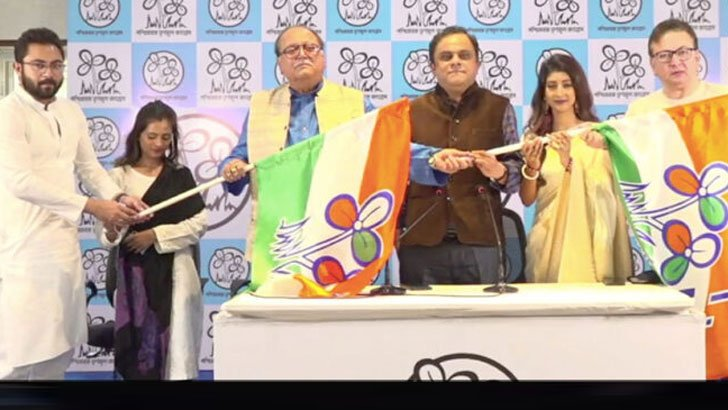 তৃণমূলে যোগ দিলেন দীপঙ্কর দে সহ টলিউডের ৪ তারকা - West Bengal News 24