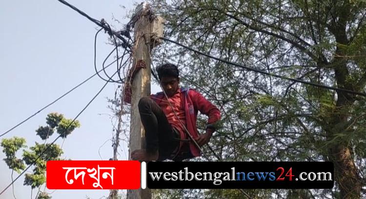 জোরপূর্বক বিদ্যুতের বিল চাপিয়ে, সাংবাদিক মৃত্যুঞ্জয় সরদারের পরিবারের বিদ্যুৎ সংযোগ বিচ্ছিন্ন করল স্থানীয় বিদ্যুৎ দপ্তর - West Bengal News 24