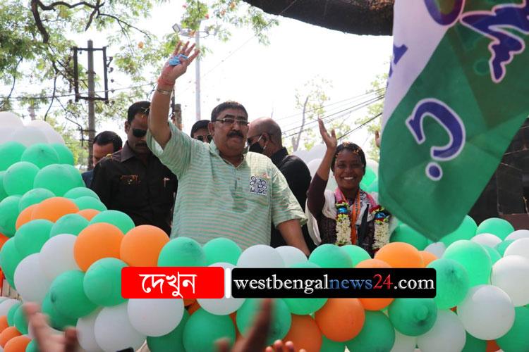 কেষ্ট এসে মনোবল বাড়ালেন কর্মীদের - West Bengal News 24