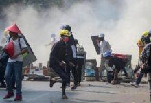মিয়ানমারে অভ্যুত্থানবিরোধী বিক্ষোভে ৪৩ শিশু নিহত - West Bengal News 24