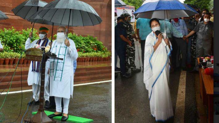 নিজের ছাতা নিজে ধরো, মোদীকে বার্তা মমতার - West Bengal News 24