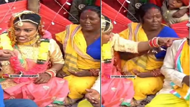 বিয়ের আসরে পুরোহিত ও বরকে চড় মারলেন কনে (ভিডিও) - West Bengal News 24